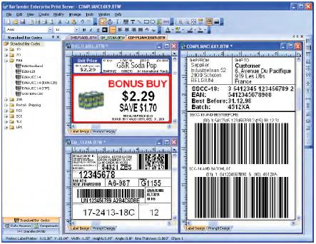 Bartender label design software free download