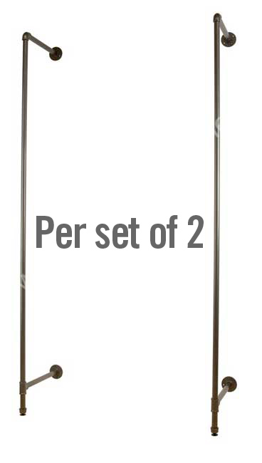 set of 2 outrigger posts