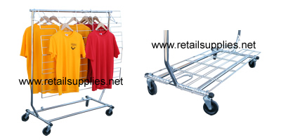 Display Screen and Shelf for Rolling Rack