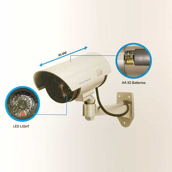 led security camera