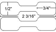 330174 dumbell label closeup