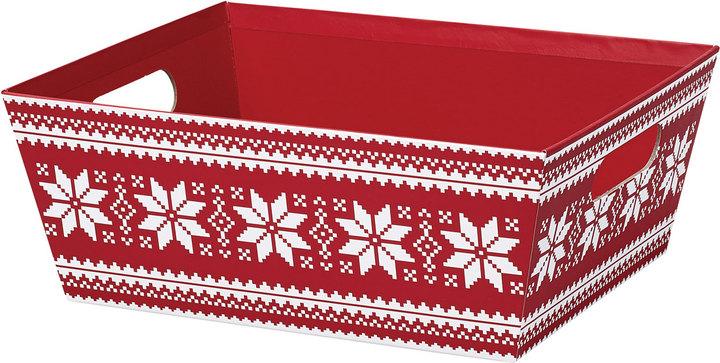 nordic snowflake tray