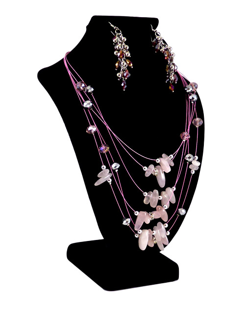 combo jewellery display black