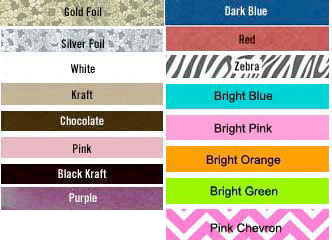 jewelerry box colors