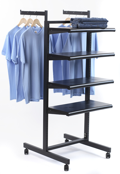 k400 rack with shelves