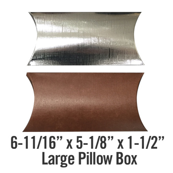 large pillow box