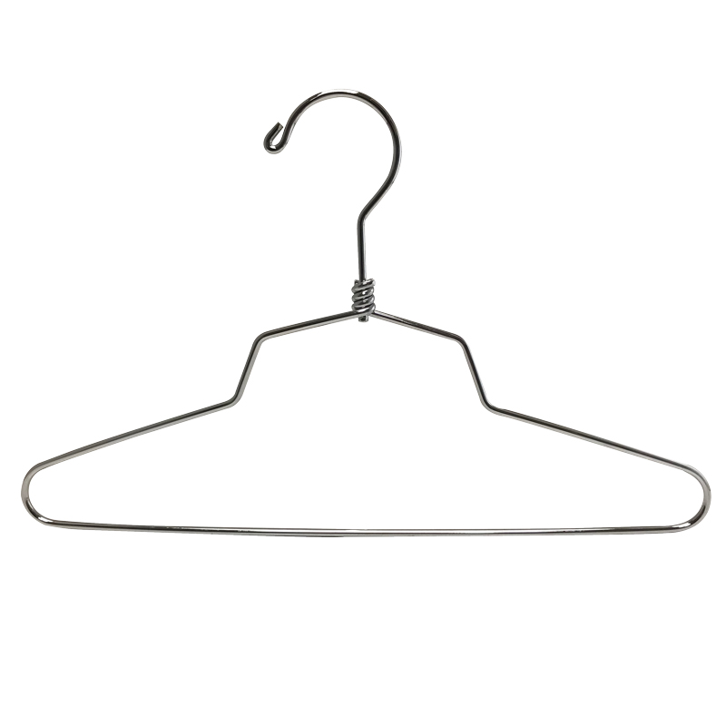 chrome dress hanger