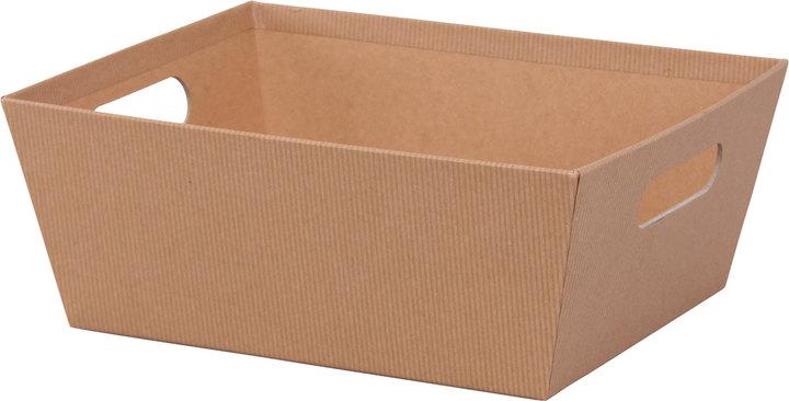 """Kraft Basket Tray - 9""""l x 7""""w x 3-1/2""""h - SKU: 602825"""