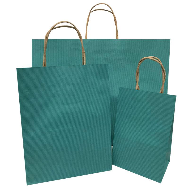 ocean blue pintripe bags