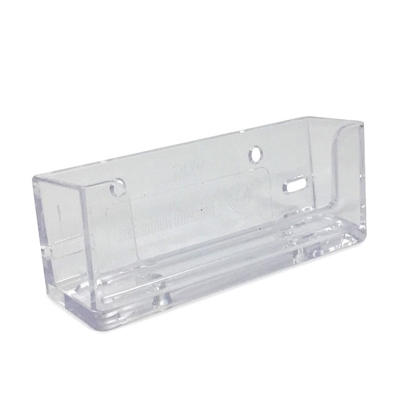 990406 4w X 1d X 1 12h Wall Mount Horizontal Clear Business