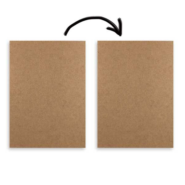 "8-1/2"" x 11"" Chipboard Inserts - ea. - SKU: 656028"