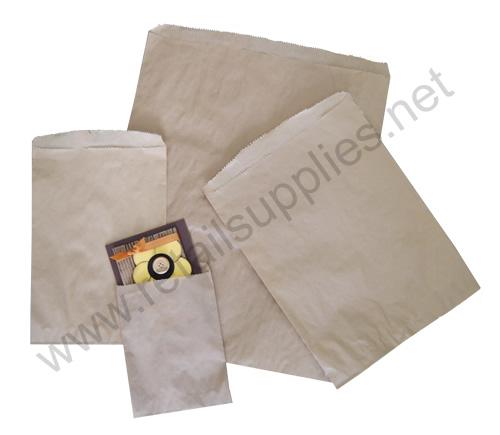"7""x10"" 1000/pkg Kraft Paper Accessory Bags - SKU: 660550"