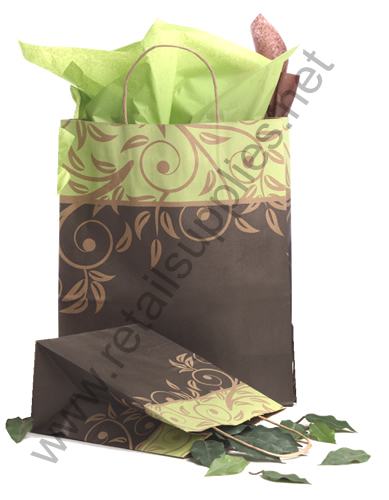 Celebrity-Traveller Antiqua Paper Shopping Bags - SKU: 667325