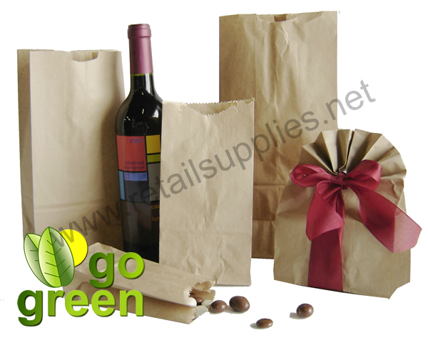 20 lb. Grocery Style Paper Bags - SKU: 660430