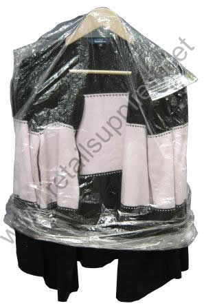 """36"""" Dry Cleaner Poly Roll - 1200 bags per roll - SKU: 680408"""