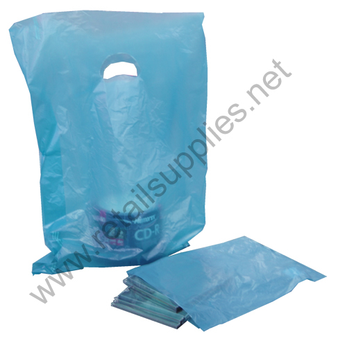 "12""x15"" Dark Blue High Density Bags box 1000 - SKU: 674236"