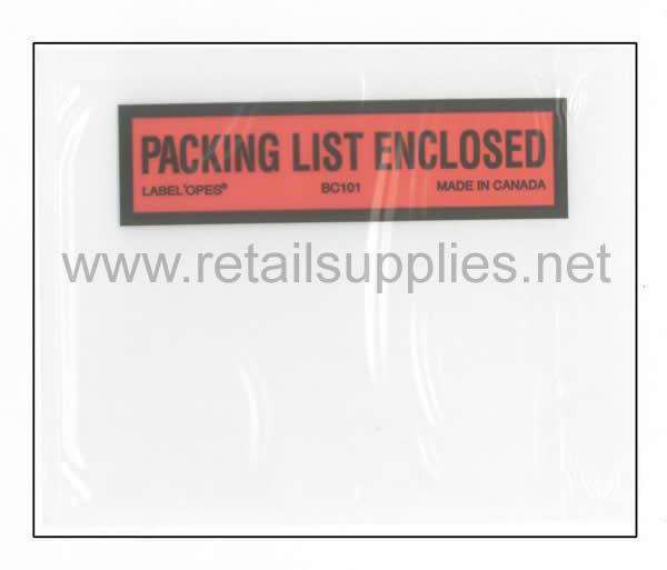 Packing Slip Envelopes per pack of 25 - SKU: 990617