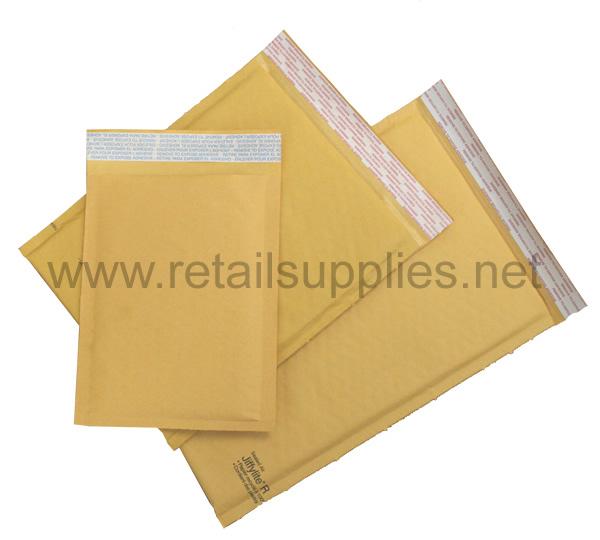 """#0 6""""x10"""" Jiffylite Bubble Envelopes - SKU: 656067"""
