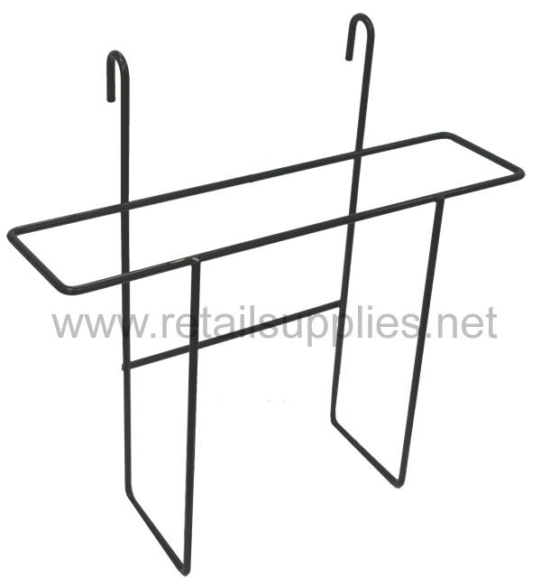 """9-1/2""""w x 9""""h x 2-1/4""""d Gridwall Wire Brochure Display - SKU: 261708"""