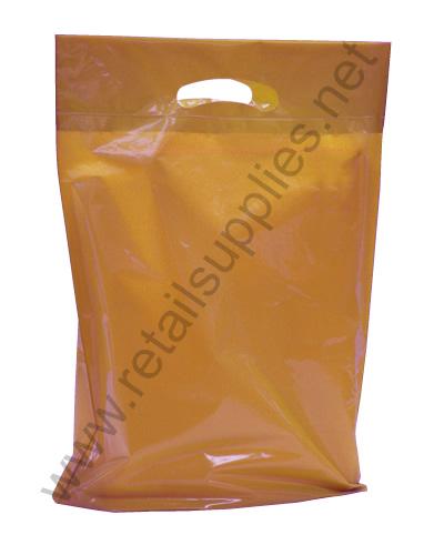 "Small 12""x16""x3"" Metallic Copper Oxo-Biodegradable Boutique Bags per 500 - SKU: 668774"