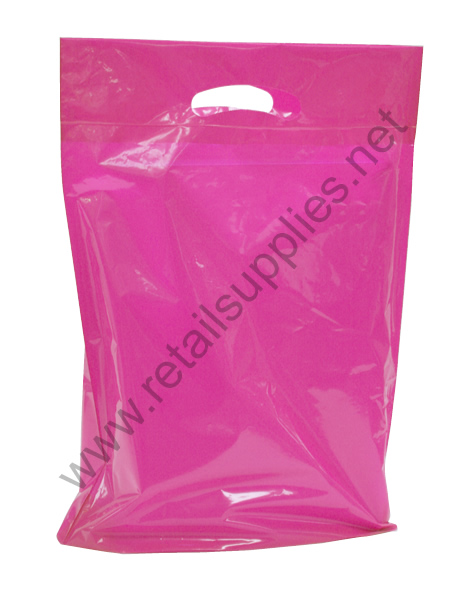 Small Hot Pink Priced Right Boutique Bags - per 1000 - SKU: 671763