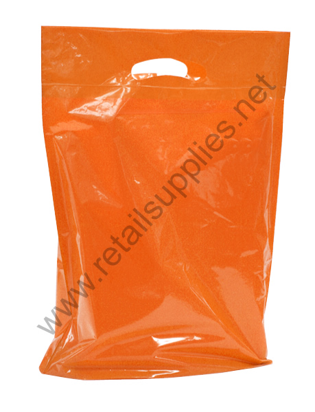 Medium Orange Priced Right Boutique Bags - per 500 - SKU: 671811