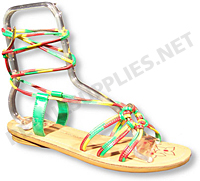 "5"" tall x 8.5"" long Low Rise Women's Sandal Form - SKU: 264095"