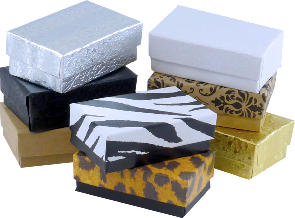 "Kraft #21 Priced Right - 2-1/2""x1-1/2""x7/8"" Jewellery Box - SKU: 606606"
