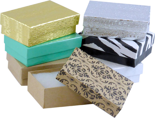 "Kraft #32 Priced Right - 3-1/16""x2-1/8""x1"" Jewellery Box - SKU: 606706"