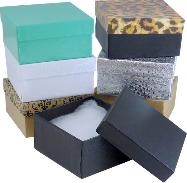 "Gold Foil #34 Priced Right - 3-1/2""x3-1/2""x2"" Jewellery Box - SKU: 606973"