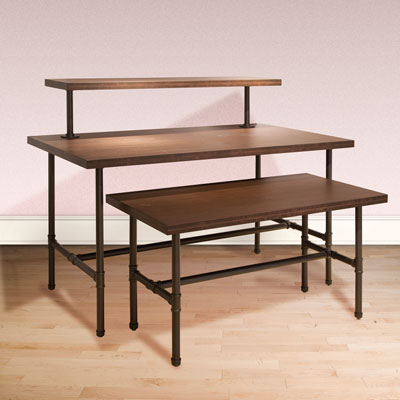 Large Table frame only Pipeline Collection Display Tables - SKU: 230588