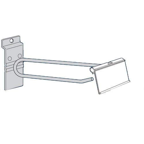 "FS600SWFM6 6"" Metal Flip Scan Slatwall Scanner Hooks - SKU: 262596"