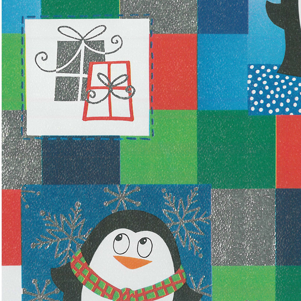 "24"" x 200' 430250 Pudgy Penguins Gift Wrap - SKU: 4302502"