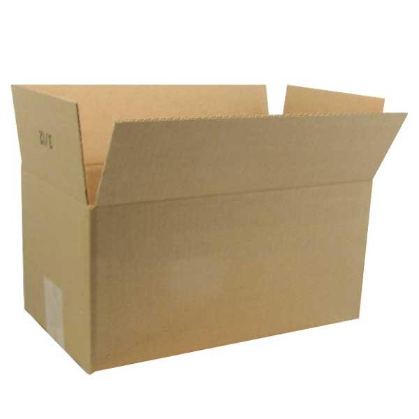 "#129 - 17-1/4""w x 11-1/8""d x 7-1/4""h  Corrugated Kraft Shipping Box - ea. - SKU: 655987"