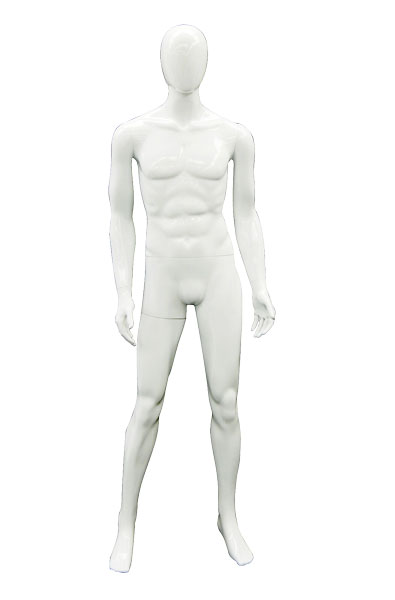 263190- Super George Unbreakable Glossy Male Mannequin