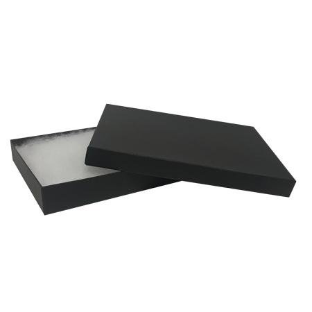 "607202 - Matte Black #75 Priced Right - 7""x5""x1"" Jewellery Box"