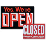 526320 - Large Open/Closed Sign