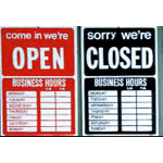 526325 - Small Open/Closed Sign