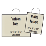 Express Pack Printed Shopping Bag Package - The FASHION Store Package