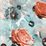 648844 - 20 x 30 Floral Scatter Pattern Tissue Paper