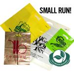 Small Run Custom Printed Bags - Oxo-Biodegradable Poly Bags