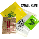 Small Run Custom Printed Bags - Poly Boutique Bags