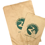 Small Run Custom Printed Bags - Flat Paper Bags