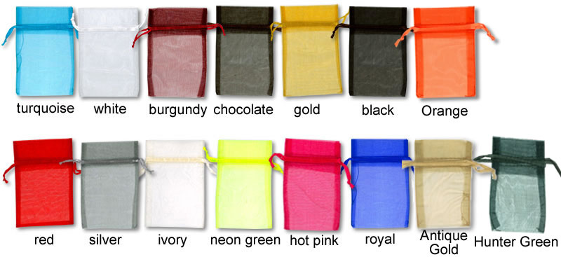 Organza Bag Swatches